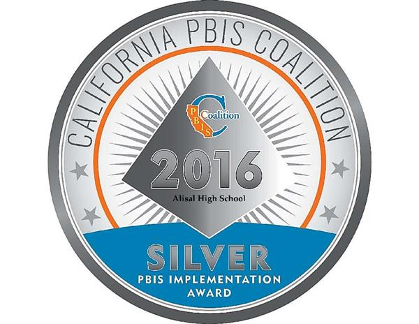 AHS Receives Silver Medal Award for PBIS