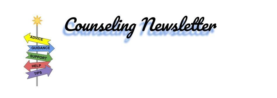 Counseling Department Newsletter