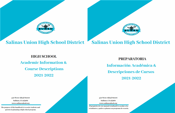 Salinas Union High School District Calendar 2021-2022 Images