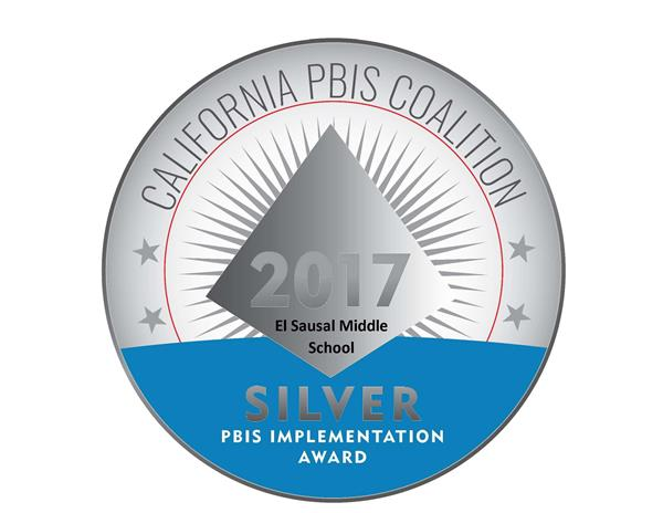 ESMS Receives Silver Medal Award for PBIS