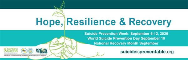 Hope, Resilience & Recovery - Suicideispreventable.org