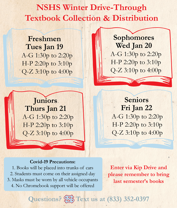 Textbook Distribution this Week