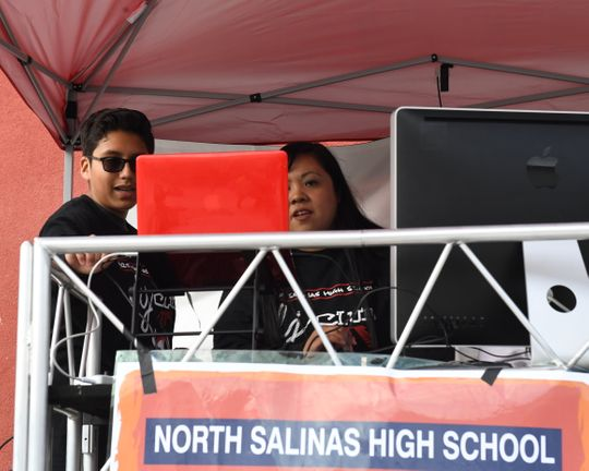 Following local music tradition, North Salinas hosts first district DJ competition