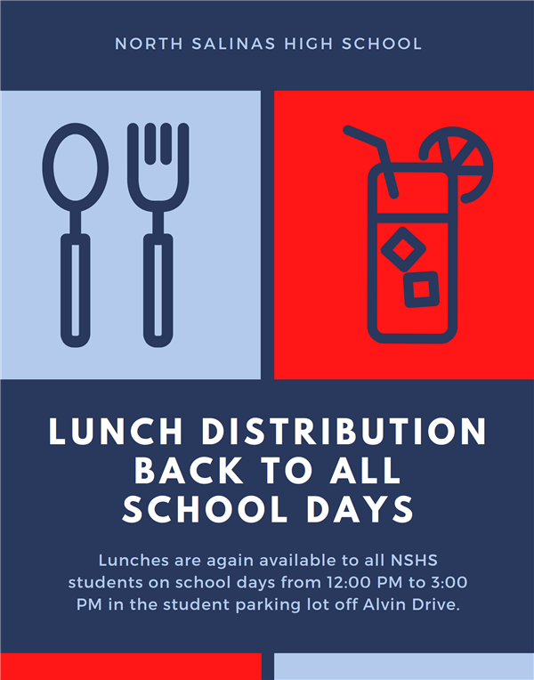 Lunch Distribution Returns to All School Days