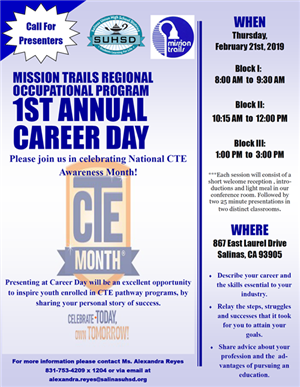 1ST ANNUAL CAREER DAY