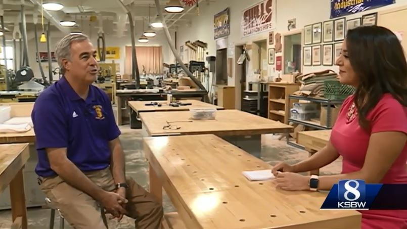 Green Academy featured on KSBW