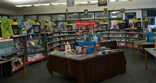 Book Fair @ Library 11/8-11/17