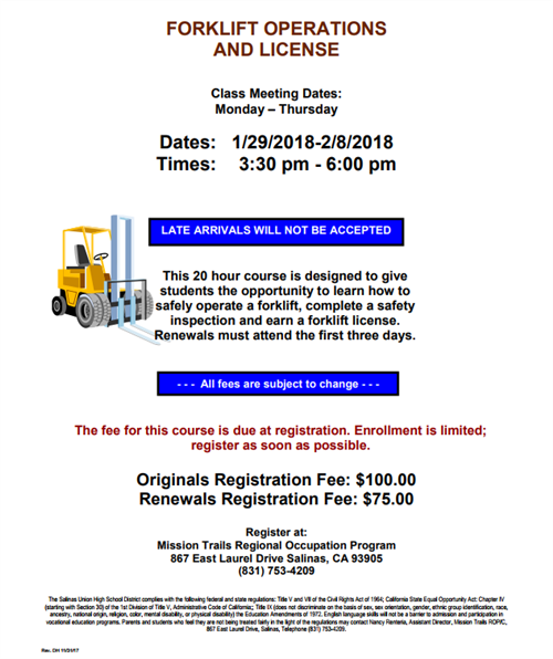 Adult Program_Forklift
