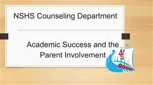 Academic Success and Parent Involvement