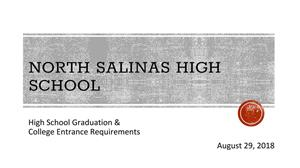 High School Graduation Requirements and College Entrance