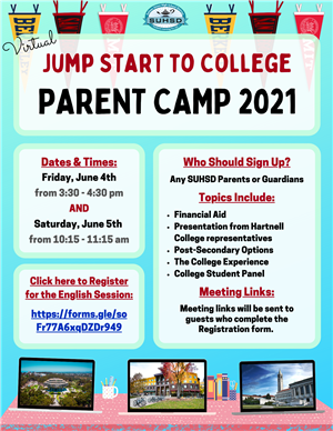 JSTC Parent Camp English
