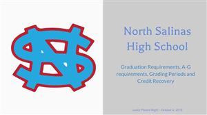 Grad Requirements, A-G & Credit Recovery