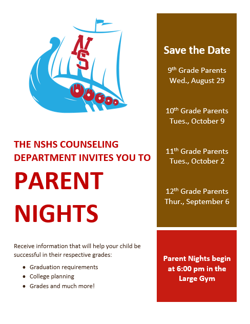Parent Night Flyer (English)