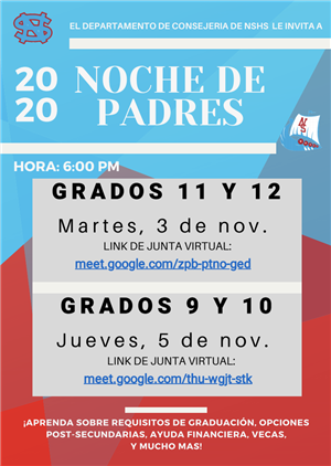 Parent Night Flyer (Spanish)