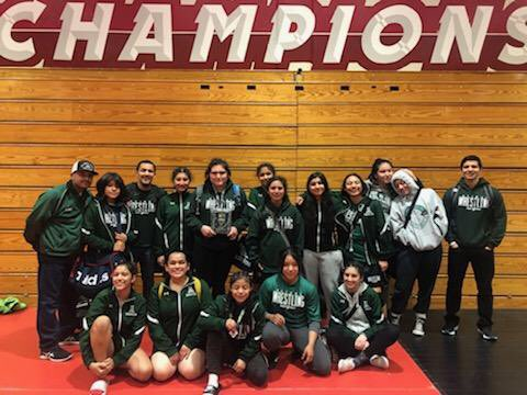SUHSD Girls Wrestling Dominates CCS