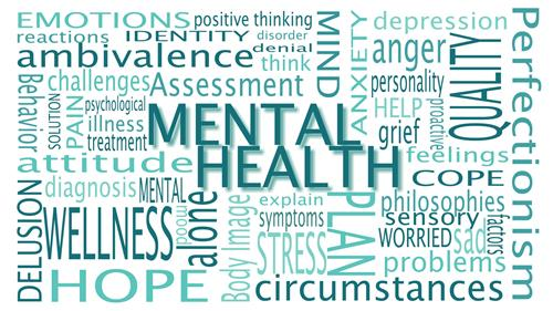 Mental Health Matters word cloud